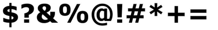 Verdana Pro Bold Font OTHER CHARS