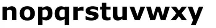 Verdana Pro Bold Font LOWERCASE