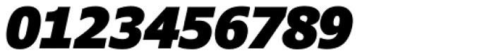 Verdana Pro Condensed Black Italic Font OTHER CHARS