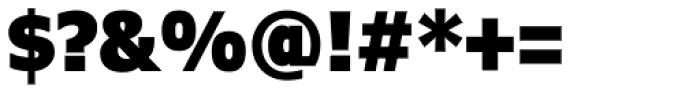 Verdana Pro Condensed Black Font OTHER CHARS