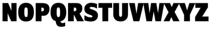 Verdana Pro Condensed Black Font UPPERCASE