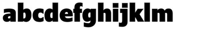 Verdana Pro Condensed Black Font LOWERCASE
