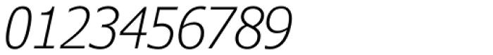 Verdana Pro Condensed Light Italic Font OTHER CHARS