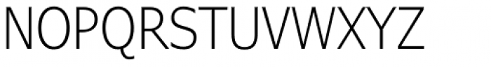 Verdana Pro Condensed Light Font UPPERCASE