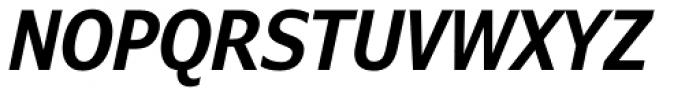 Verdana Pro Condensed SemiBold Italic Font UPPERCASE