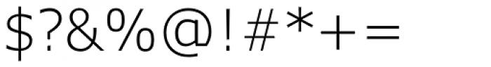 Verdana Pro Light Font OTHER CHARS