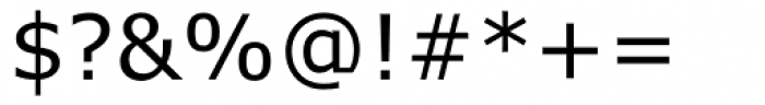 Verdana Font OTHER CHARS