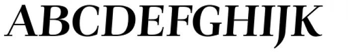 Verger Bold Italic Font UPPERCASE