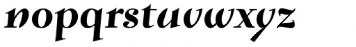 Verger Bold Italic Font LOWERCASE
