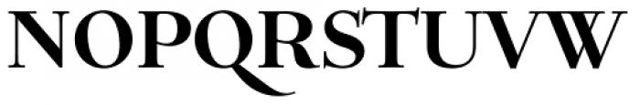 Verger Bold Font UPPERCASE