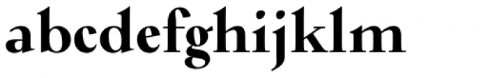 Verger Bold Font LOWERCASE