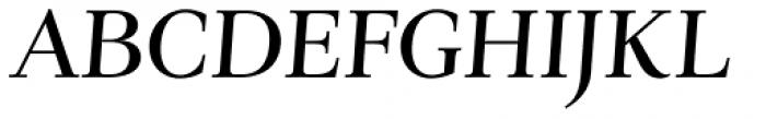 Verger Italic Font UPPERCASE