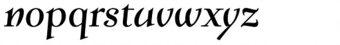 Verger Italic Font LOWERCASE