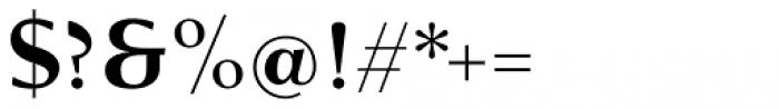 Verger Sans Bold Font OTHER CHARS