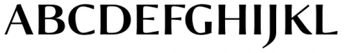 Verger Sans Bold Font UPPERCASE