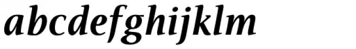 Veritas AE Bold Italic Font LOWERCASE