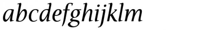 Veritas AE Italic Font LOWERCASE