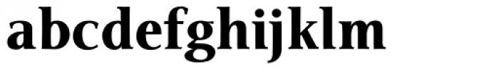 Veritas Black Font LOWERCASE