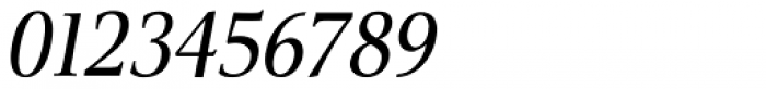 Veritas Italic Font OTHER CHARS
