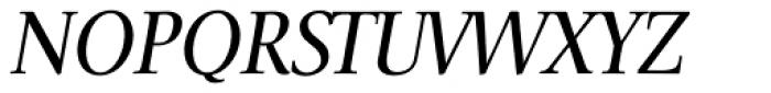 Veritas Italic Font UPPERCASE