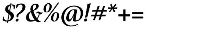 Veritas SemiBold Italic Font OTHER CHARS