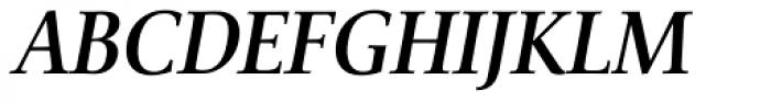 Veritas SemiBold Italic Font UPPERCASE