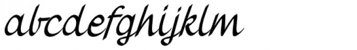 Vernaccia Condensed Italic Font LOWERCASE