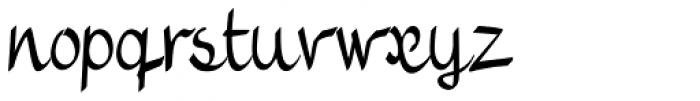 Vernaccia Condensed Font LOWERCASE