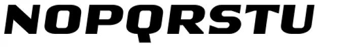 Vernissage Oblique Font UPPERCASE