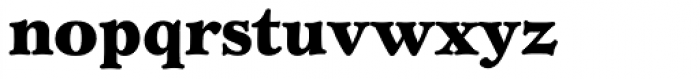 Verona SB XBold Font LOWERCASE
