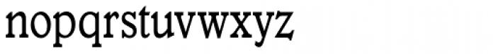 Veronese Book Condensed Font LOWERCASE