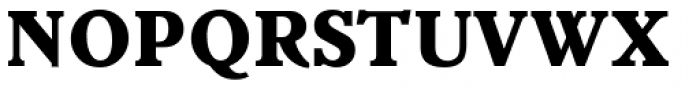 Veronese ExtraBold Font UPPERCASE