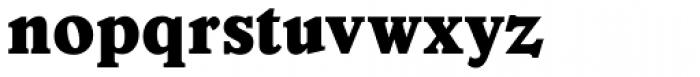 Veronese ExtraBold Font LOWERCASE