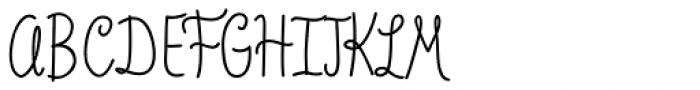 Veronia Semi Bold Font UPPERCASE