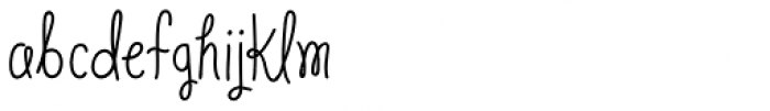 Veronia Semi Bold Font LOWERCASE
