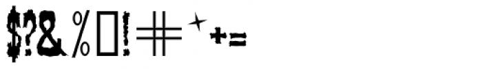 Veronique Font OTHER CHARS