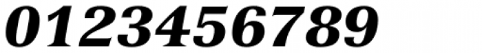 Versailles 96 Black Italic Font OTHER CHARS
