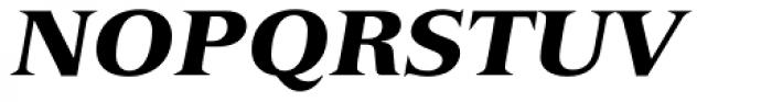 Versailles 96 Black Italic Font UPPERCASE