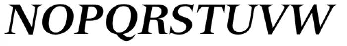 Versailles Com 76 Bold Italic Font UPPERCASE