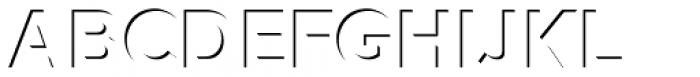 Versatile Inside Shadow Bold Font UPPERCASE