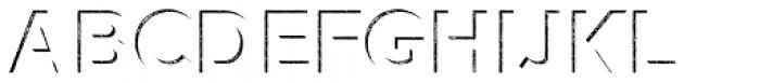 Versatile Inside Shadow Hatch Bold Font UPPERCASE
