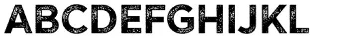 Versatile Rust Bold Font UPPERCASE