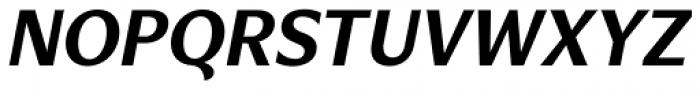 Verse Sans Bold Italic Font UPPERCASE