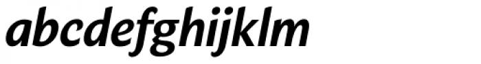 Verse Sans Bold Italic Font LOWERCASE