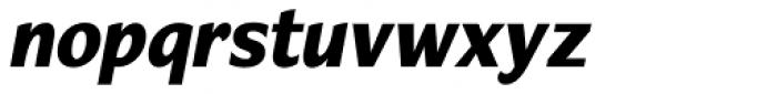Verse Sans ExtraBold Italic Font LOWERCASE