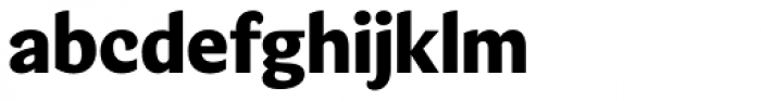 Verse Sans ExtraBold Font LOWERCASE