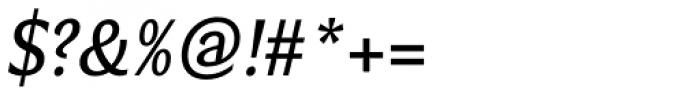 Verse Sans Medium Italic Font OTHER CHARS