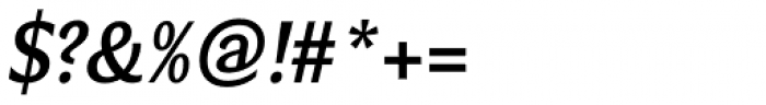 Verse Sans SemiBold Italic Font OTHER CHARS