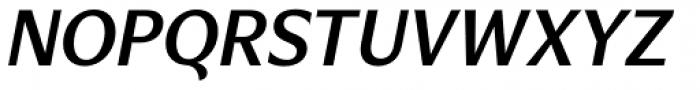 Verse Sans SemiBold Italic Font UPPERCASE