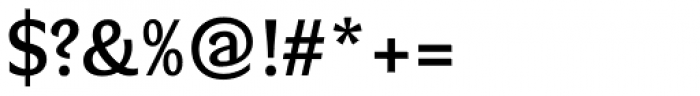 Verse Sans SemiBold Font OTHER CHARS
